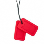 Dog Tag Necklace - 'Code Red' - Chewigem